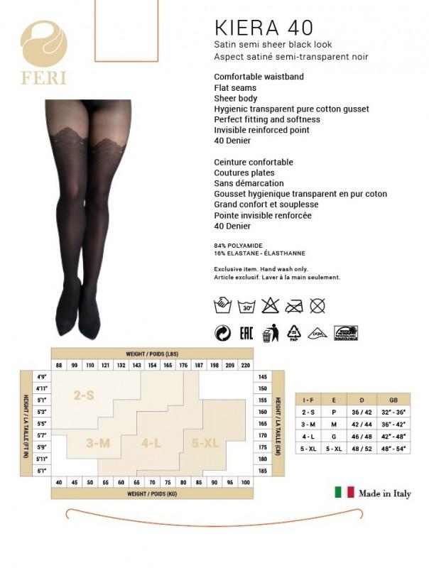 37bbb29ffe Opulence Global - FERI - Kiera - Black 40